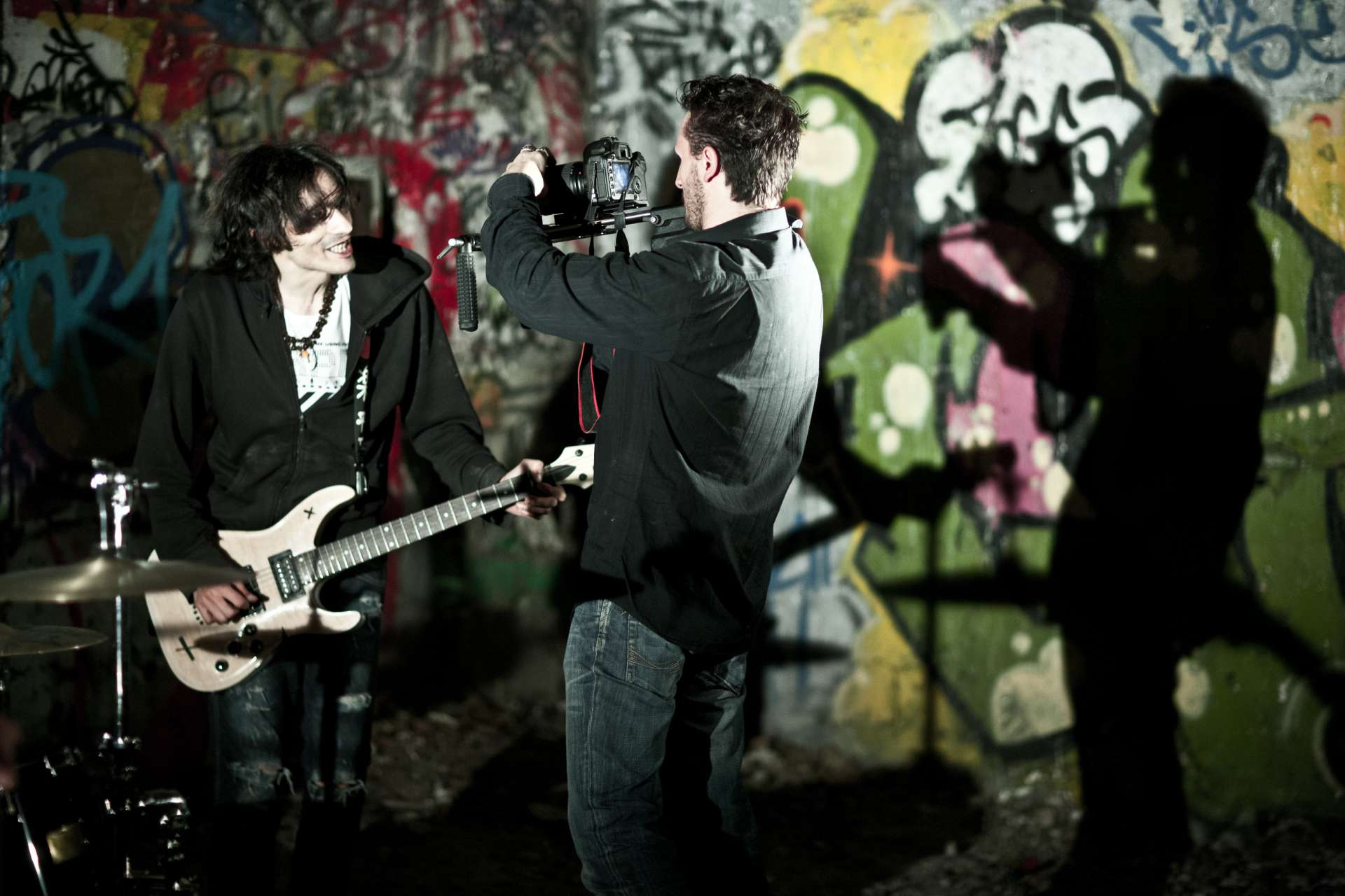 "Shooting ""Take This Smile"" - Moksha"