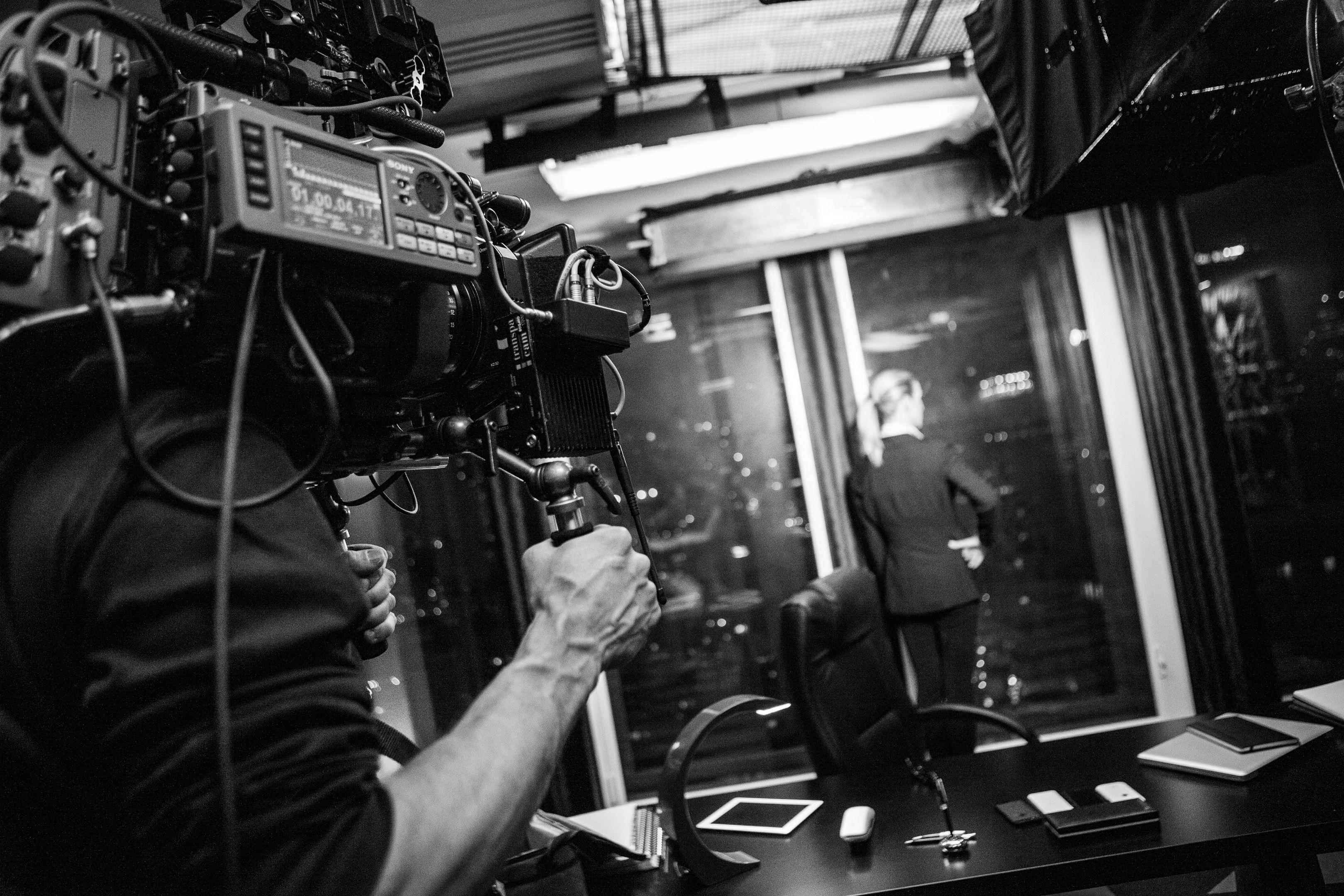 Inside The Pharma Company - Le tournage