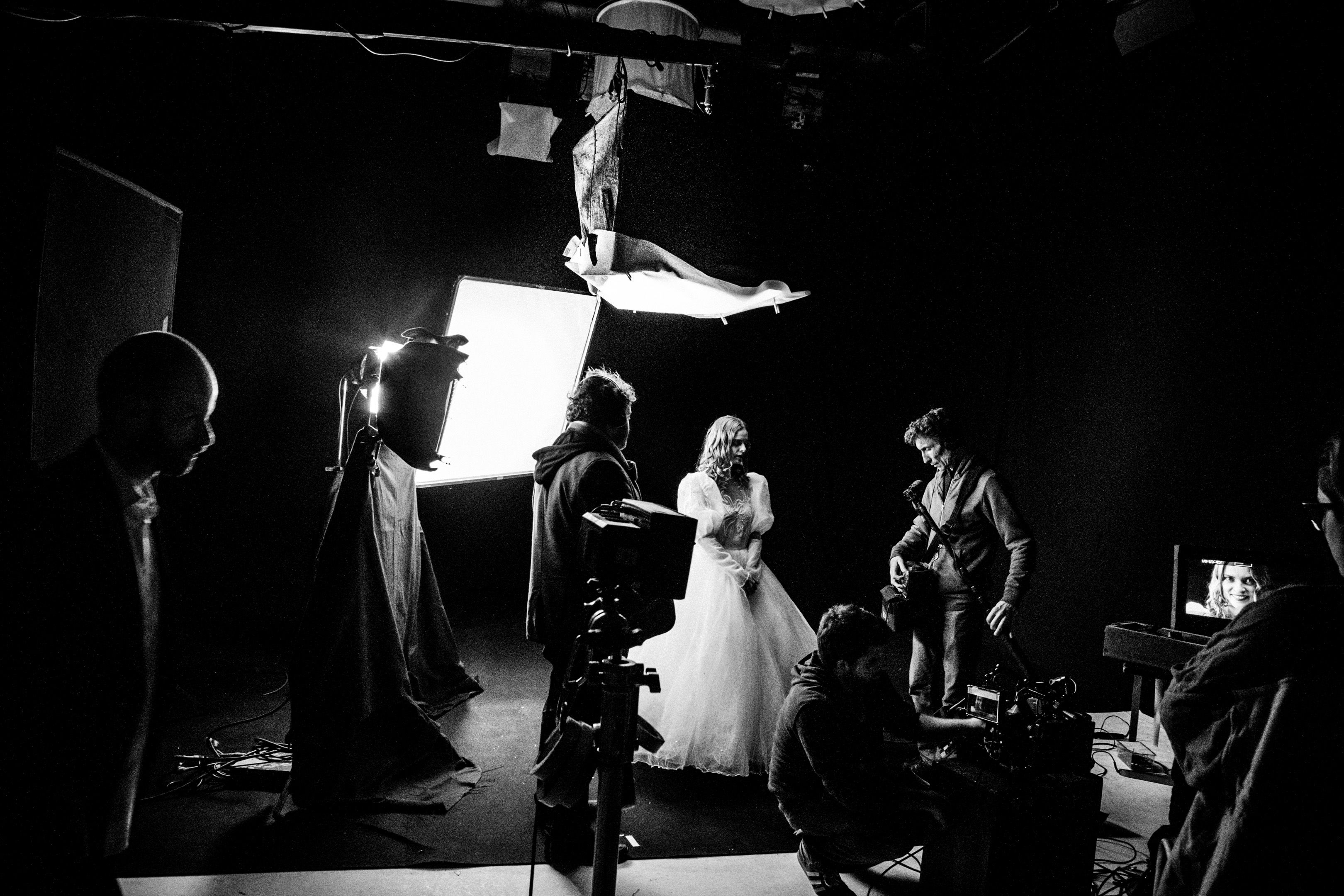 Je suis une vie : Le tournage