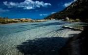 Santa Giulia Bay, Porto-Vecchio, Corsica, France