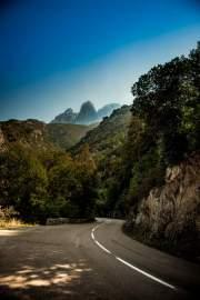 Road to Porto, Corsica, France