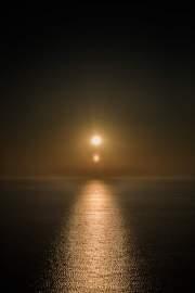 Two suns, Cargèse, Corsica, France