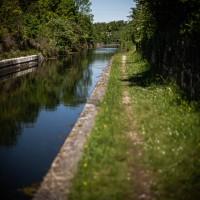 Le long du canal du Rompsay